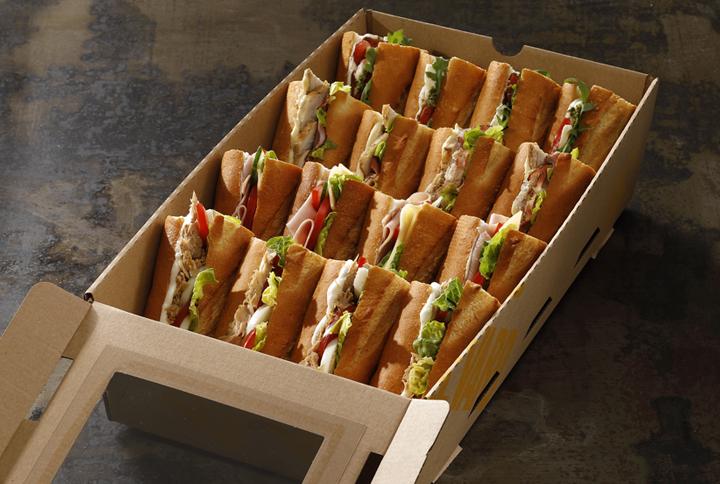 Best of box (šunka, caprese, caesar, tuniak)